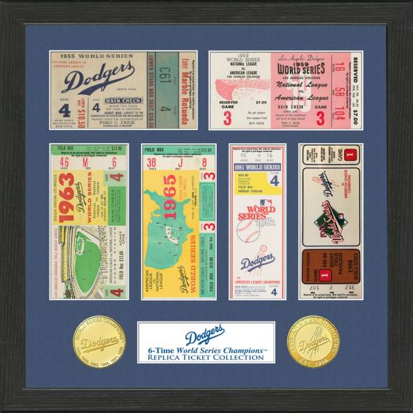 Highland Mint Los Angeles Dodgers World Series Ticket Collection product image