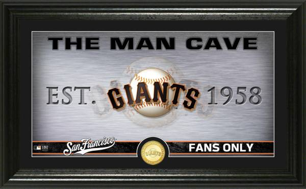 Highland Mint San Francisco Giants Man Cave Panoramic Bronze Coin Photo Mint product image