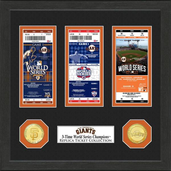 Highland Mint San Francisco Giants World Series Ticket Collection product image