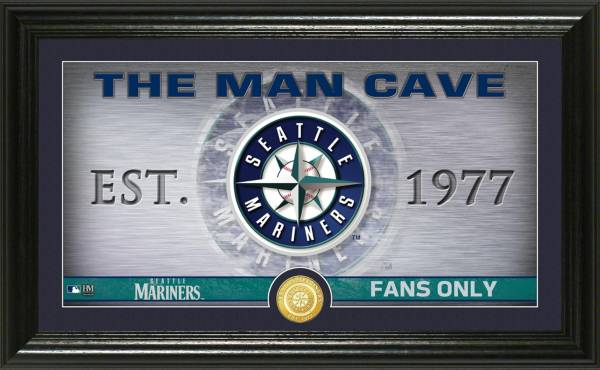 Highland Mint Seattle Mariners Man Cave Panoramic Bronze Coin Photo Mint product image