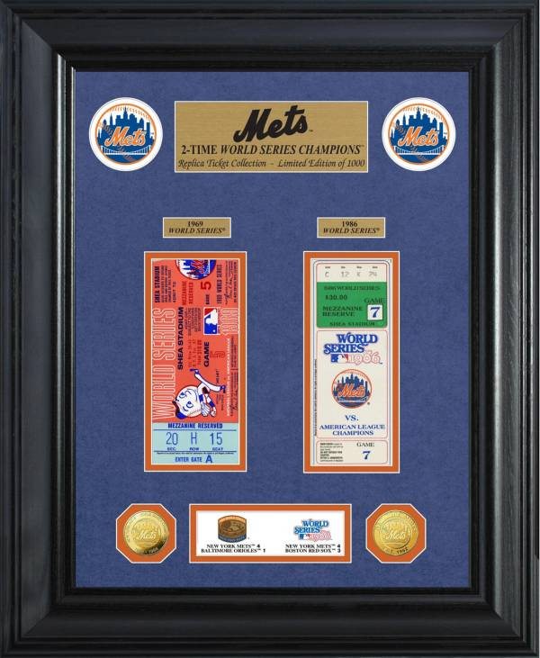 Highland Mint New York Mets World Series Deluxe Gold Coin & Ticket Collection product image