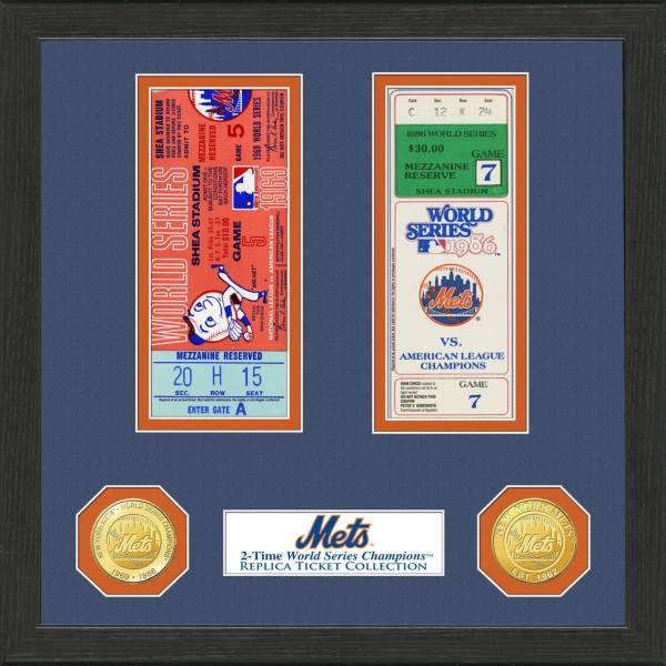 Highland Mint New York Mets World Series Ticket Collection product image