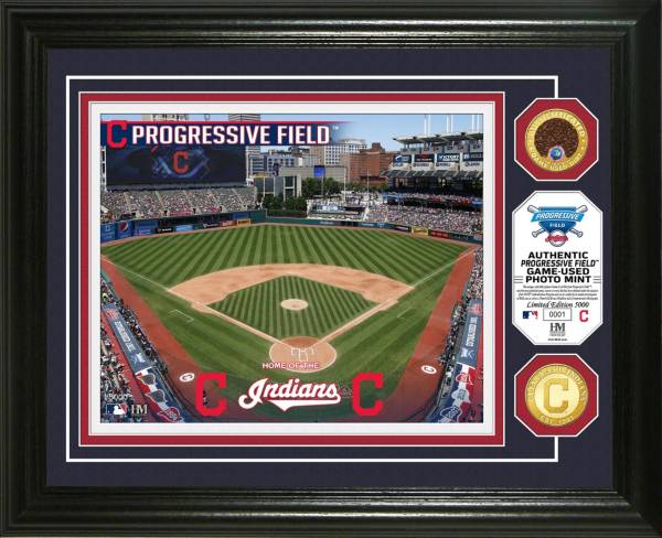 Highland Mint Cleveland Indians Dirt Coin Photo Mint product image