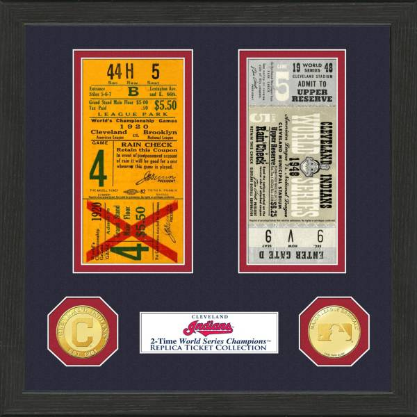 Highland Mint Cleveland Indians World Series Ticket Collection product image