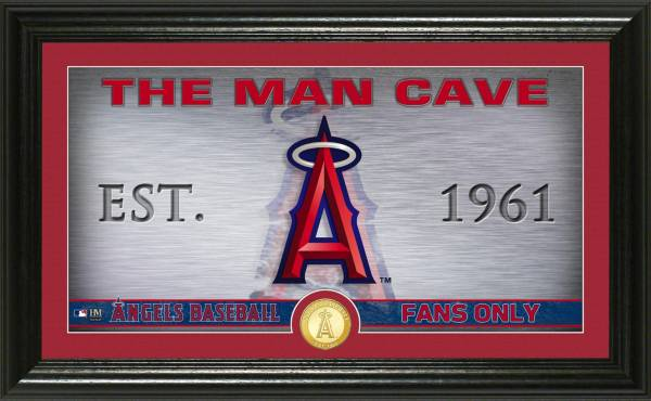Highland Mint Los Angeles Angels Man Cave Panoramic Bronze Coin Photo Mint product image