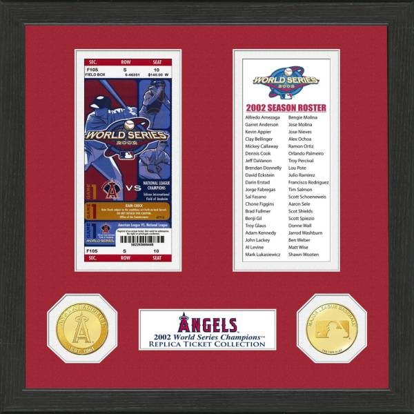 Highland Mint Los Angeles Angels World Series Ticket Collection product image