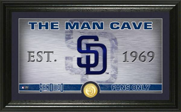 Highland Mint San Diego Padres Man Cave Panoramic Bronze Coin Photo Mint product image