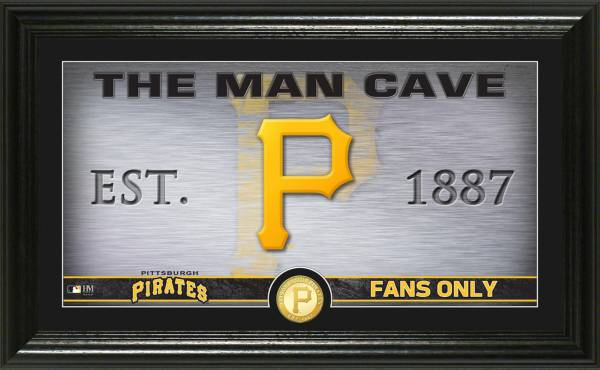 Highland Mint Pittsburgh Pirates Man Cave Panoramic Bronze Coin Photo Mint product image
