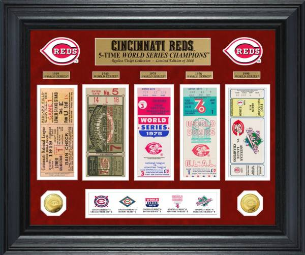 Highland Mint Cincinnati Reds World Series Deluxe Gold Coin & Ticket Collection product image