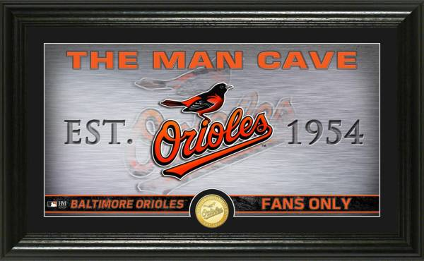 Highland Mint Baltimore Orioles Man Cave Panoramic Bronze Coin Photo Mint product image