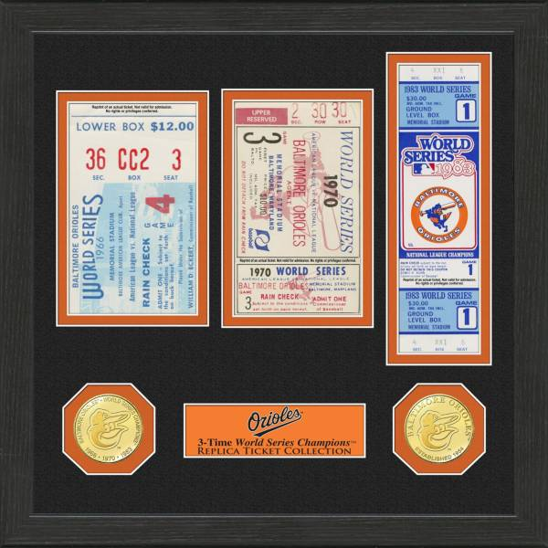 Highland Mint Baltimore Orioles World Series Ticket Collection product image