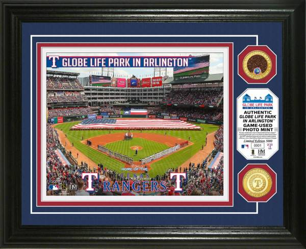 Highland Mint Texas Rangers Dirt Coin Photo Mint product image
