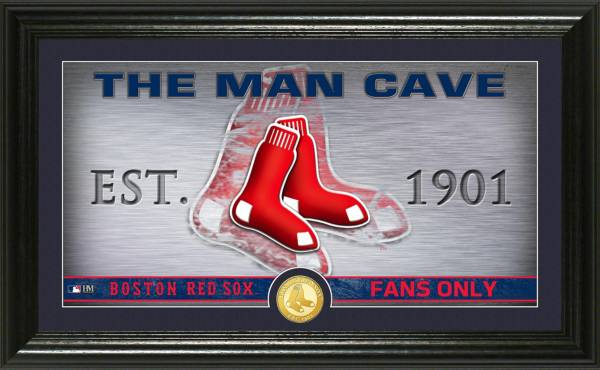 Highland Mint Boston Red Sox Man Cave Panoramic Bronze Coin Photo Mint product image