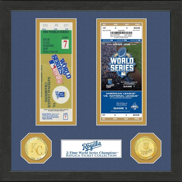 Highland Mint Kansas City Royals World Series Ticket Collection product image