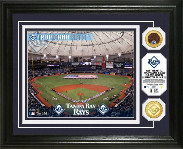 Highland Mint Tampa Bay Rays Dirt Coin Photo Mint product image