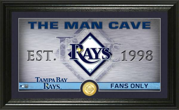 Highland Mint Tampa Bay Rays Man Cave Panoramic Bronze Coin Photo Mint product image