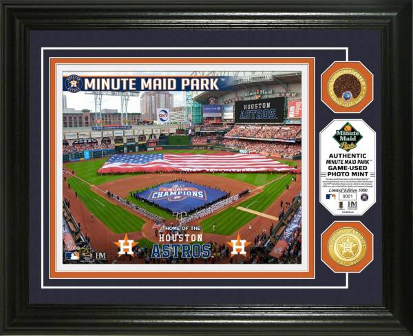 Highland Mint Houston Astros Dirt Coin Photo Mint product image