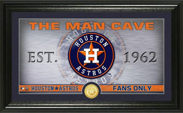 Highland Mint Houston Astros Man Cave Panoramic Bronze Coin Photo Mint product image
