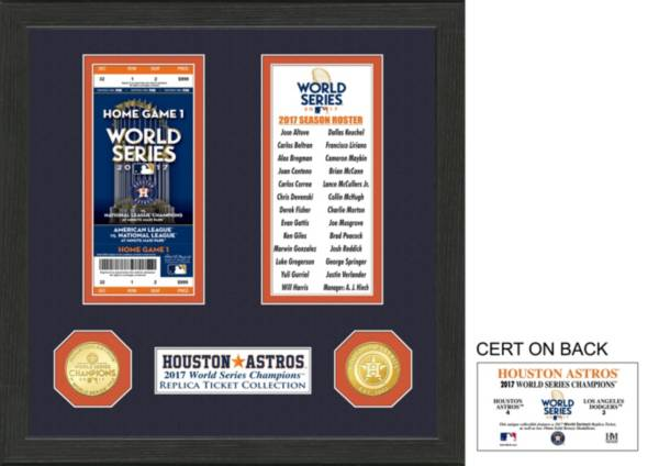 Highland Mint Houston Astros World Series Ticket Collection product image