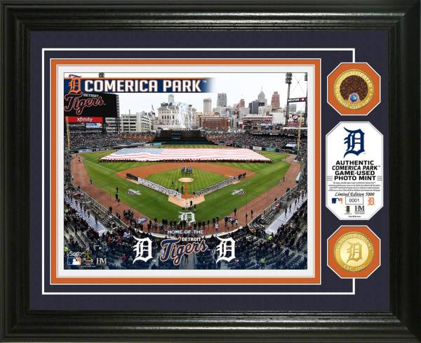 Highland Mint Detroit Tigers Dirt Coin Photo Mint product image