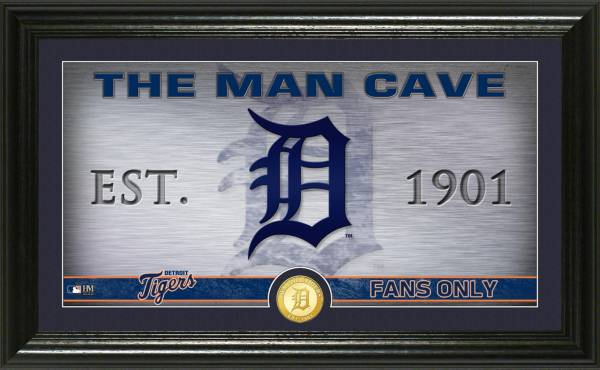Highland Mint Detroit Tigers Man Cave Panoramic Bronze Coin Photo Mint product image