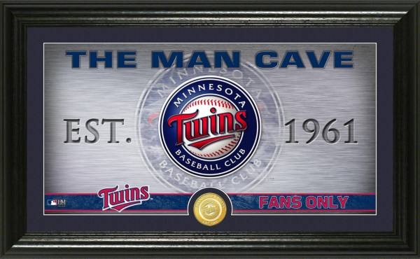 Highland Mint Minnesota Twins Man Cave Panoramic Bronze Coin Photo Mint product image