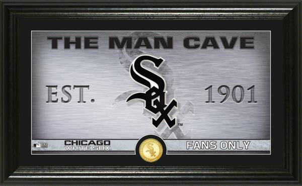 Highland Mint Chicago White Sox Man Cave Panoramic Bronze Coin Photo Mint product image
