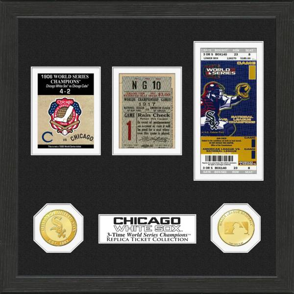 Highland Mint Chicago White Sox World Series Ticket Collection product image
