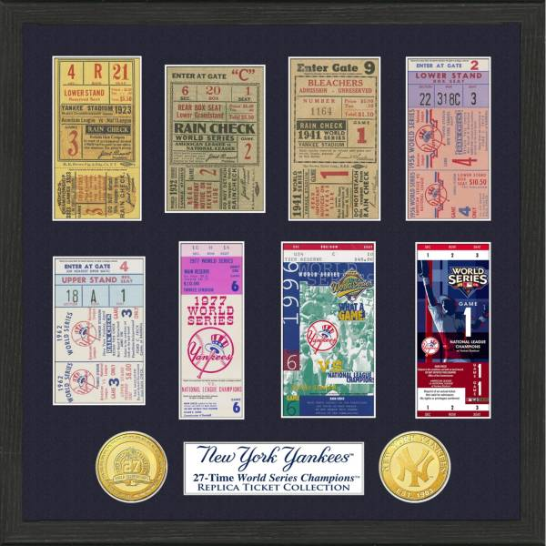 Highland Mint New York Yankees World Series Ticket Collection product image