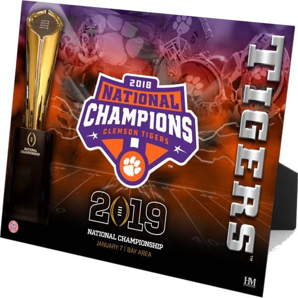 Highland Mint 2018 National Champions Clemson Tigers PleXart product image