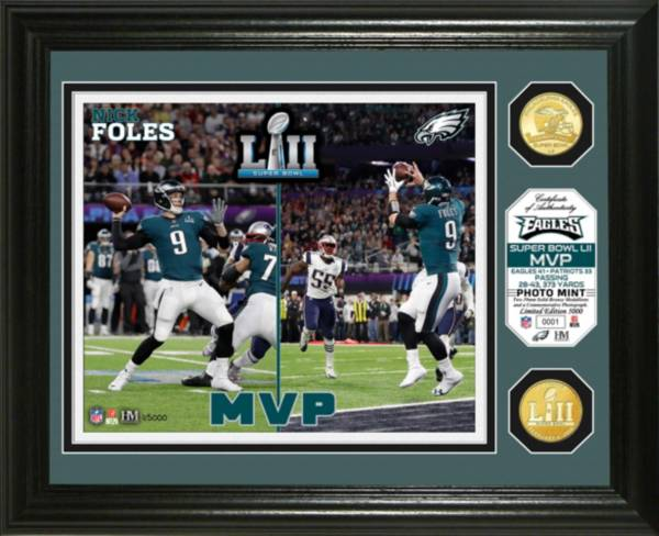 Highland Mint Super Bowl LII Champions Philadelphia Eagles MVP Bronze Coin Photo Mint product image