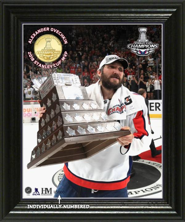 """Highland Mint 2018 Stanley Cup Champions Washington Capitals Alex Ovechkin """"MVP"""" Bronze Coin Photo Mint product image"""