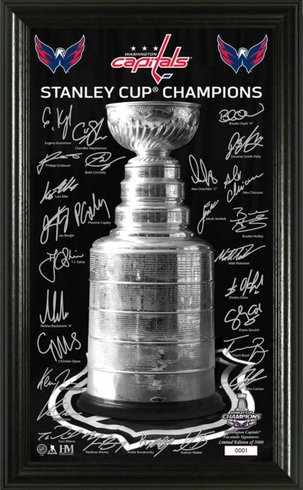 Highland Mint 2018 Stanley Cup Champions Washington Capitals Signature Trophy product image
