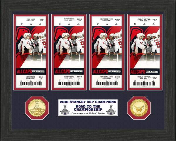 Highland Mint 2018 Stanley Cup Champions Washington Capitals Ticket Collection product image