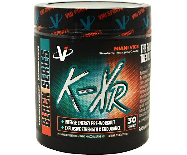 VMI Sports K-XR Pre-Workout Miami Vice 30 Servings product image