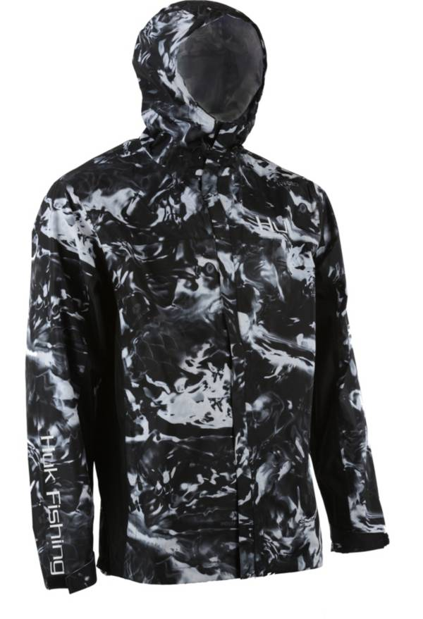 Huk Men's Subphantis Camo Packable Rain Jacket product image