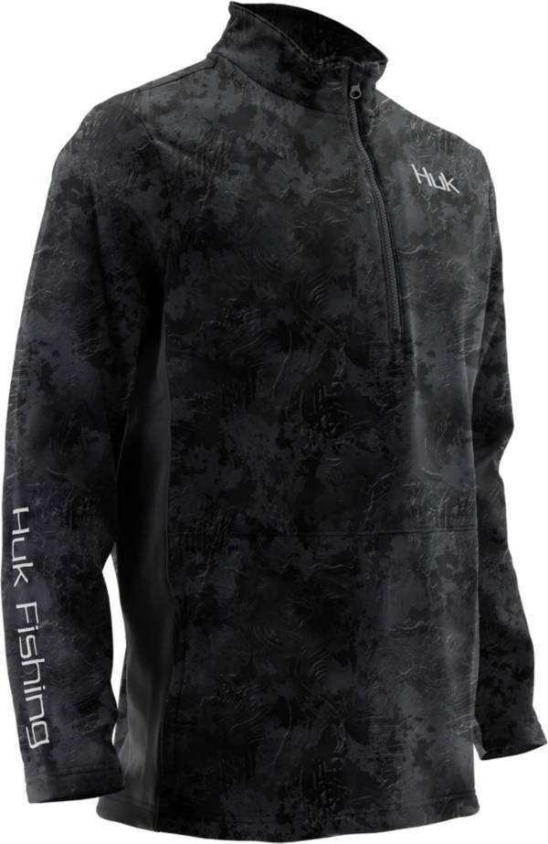 Huk Men's Tidewater Subphantis Camo Quarter-Zip Pullover product image