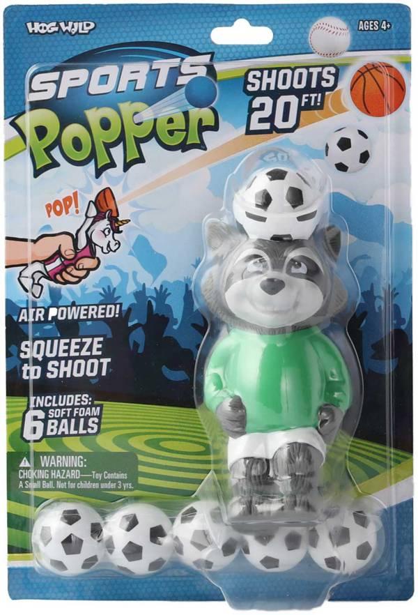 Hog Wild Raccoon Soccer Popper product image