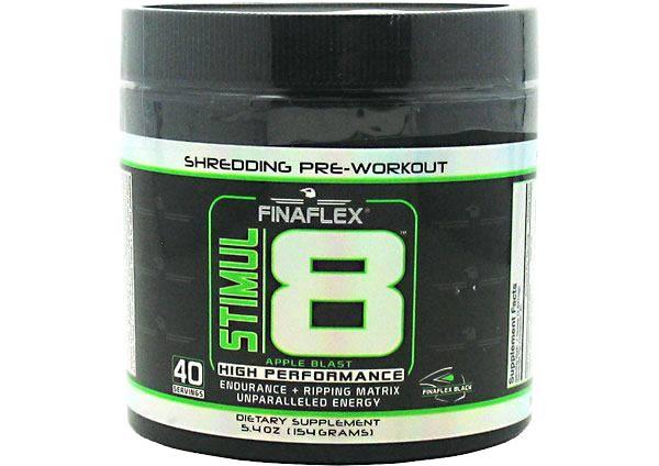 Finaflex STIMUL8 Pre-Workout Apple Blast 40 Servings product image