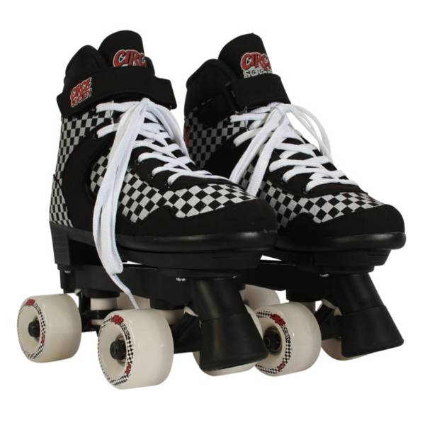Circle Society Street Checkered Quad Roller Skates product image