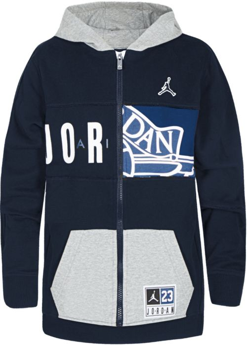 61b30066f4d Jordan Boys  23 Deconstructed Full Zip Hoodie