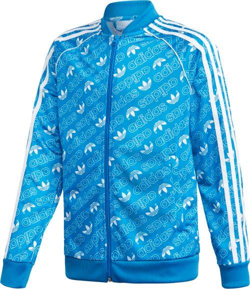 494782662918 adidas Originals Boys  Printed Track Jacket. noImageFound. Previous