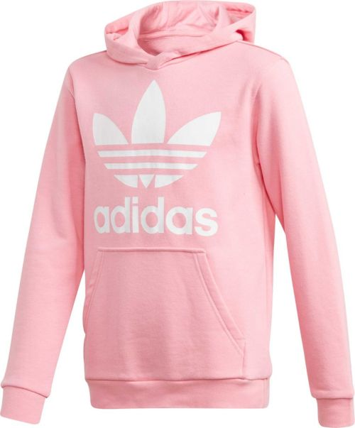 Adidas Originals Girls Trefoil Hoodie Dicks Sporting Goods