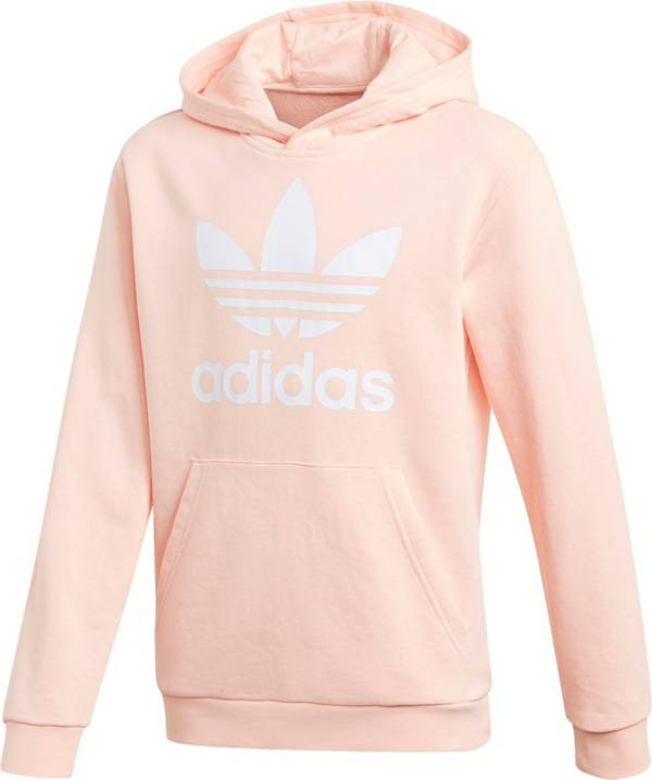 adidas Originals Girls' Trefoil Graphic Hoodie product image