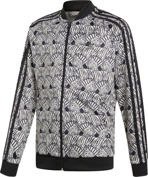 c94e59fd4d646 adidas Originals Girls  Zebra Superstar Track Jacket. noImageFound. Previous