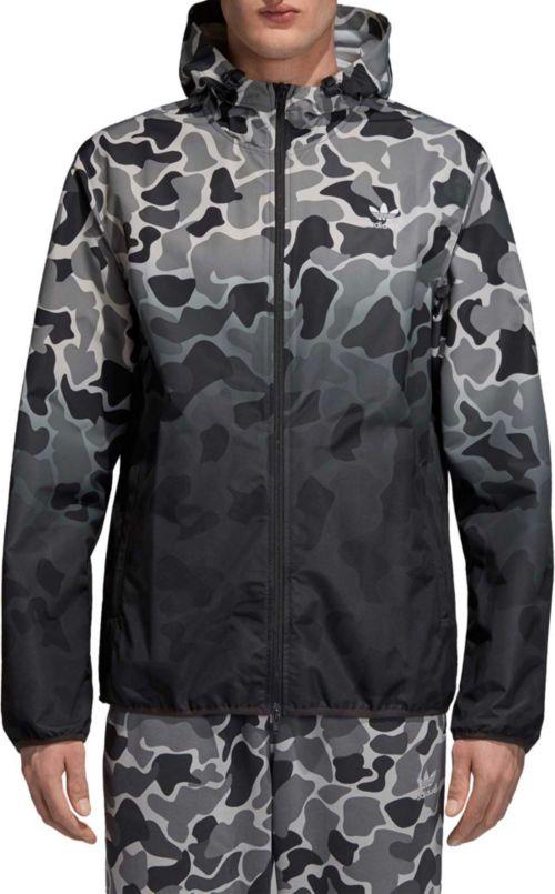 9ad9e0c96b0ab adidas Originals Men's Camo Dipped Windbreaker Jacket. noImageFound.  Previous