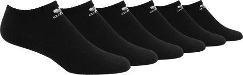 112990078 adidas Men s Originals Trefoil No Show Socks 6 Pack