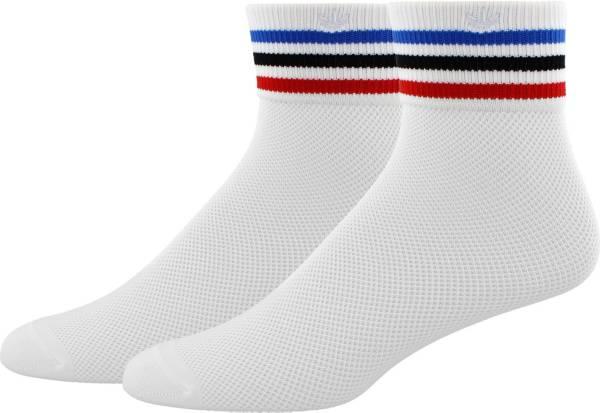 adidas Originals Women's Mesh Striped Quarter Socks product image