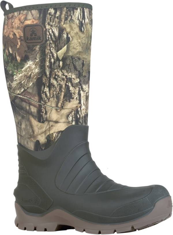 Kamik Men's Bushman Mossy Oak Country Rubber Hunting Boots product image