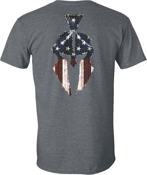spartan maglietta  Kryptek Men's American Flag Spartan Short Sleeve T-Shirt   DICK'S ...